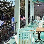 Enjoy our lovely balcony overlooking Esplanade Ave.