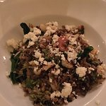 Seasonal Vegetables Farro... DELICIOUS!! I am not a vegetarian person but I wanted to try this d