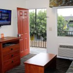 Suites Room with a Living Room, Bed Room,kitchenette and fridge & microwave with all Room.