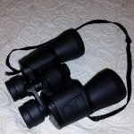 Supplied binoculars