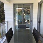 Nice furnishings on balcony
