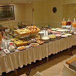 Part of the buffet Breakfast