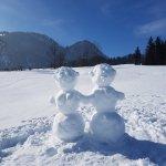 Schneefreuden und Verspieltheit