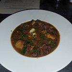 Delicious wild boar stew.