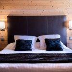 Tête de lit hôtel Beauregard à La Clusaz