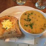 Enjoyed Seafood Chowder and Cider