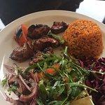 Lamb Shish Lunch Deal