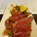 peppered beef fillet carpaccio (Chefs Special)