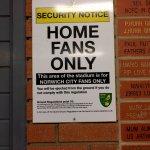 home fans entrance