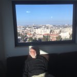 View of Jerusalem from 13th floor apartment.
