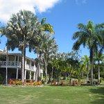 The plantation house at the Botanical Gardens