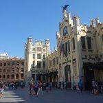 Estación de Trenes del Norte y Plaza de Toros - Valencia