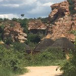 a view of the self chalet village at Mapungubwe National Park