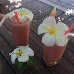 Cocktail de fruits de l'hôtel
