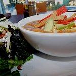 Maguire's Salad & Chicken Tortilla soup!