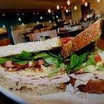 Gather Cali Club sandwich
