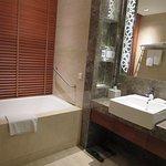 What luxury, a bath!