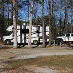 My rig on RV site #2