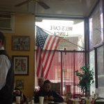 Family focused democratic establishment with tasty food; obvious local hang out