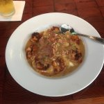 OMG, just has the Blackened Shrimp and Grits w a Redeye Gravy. Amazing!