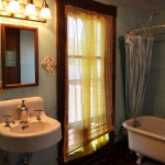Shared Bath for Rose Room, French Toast and Magnolia