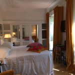 This was our room at Grand Hotel Plaza Roma