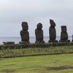 Moai near Hotel