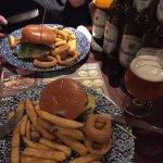 Good food and German beers! 👍