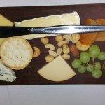 Shared cheese board