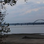 A view of the Ohio River from Fort Massac State Park.