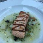 un saumon a la cuisson parfaite