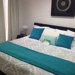 Presidential Suite: king bed, jacuzzi, A/C, safe box, mini bar, terrace, living room, room servi