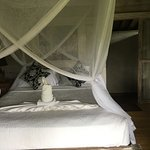 Vue des chambres et bungalow. Lever et coucher de soleil magnifiques !