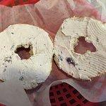 Bagel w/ Blueberry Cream Cheese