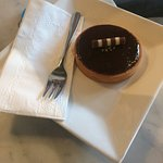 Delicious! Chocolate Ganache Tart, Raspberry Cheescake and Ice Coffee