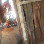 Touring the outbuildings (icehouse, chicken coop)