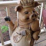 Piggy Greeter
