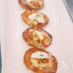 Potato Skins, perfect as an entree or a light meal