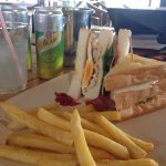 Amazing club sandwich - great value for money!