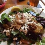 Roasted Beet Salad (w/ optional Prawns)