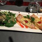 Nous avons fort appréciés notre dîner au restaurant La Proue à Pornic. Menu à 19 euros un régal