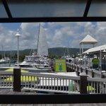 Water views overlooking the marina boats
