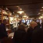 the interior of Gia Schiavi bar
