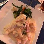 Shrimp and Lobster Champagne