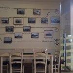 Interior of Tsias Restaurant on Aegina