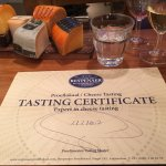 Finally, I'm a certified cheese master. :)