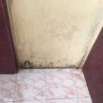 Stinky & unhygienic bathroom