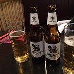 Cold Singha Beer