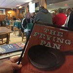 Enjoying a great Breakfast at the Frying Pan this morning!