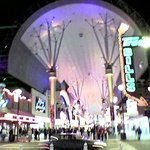 Fremont Street bei Nacht